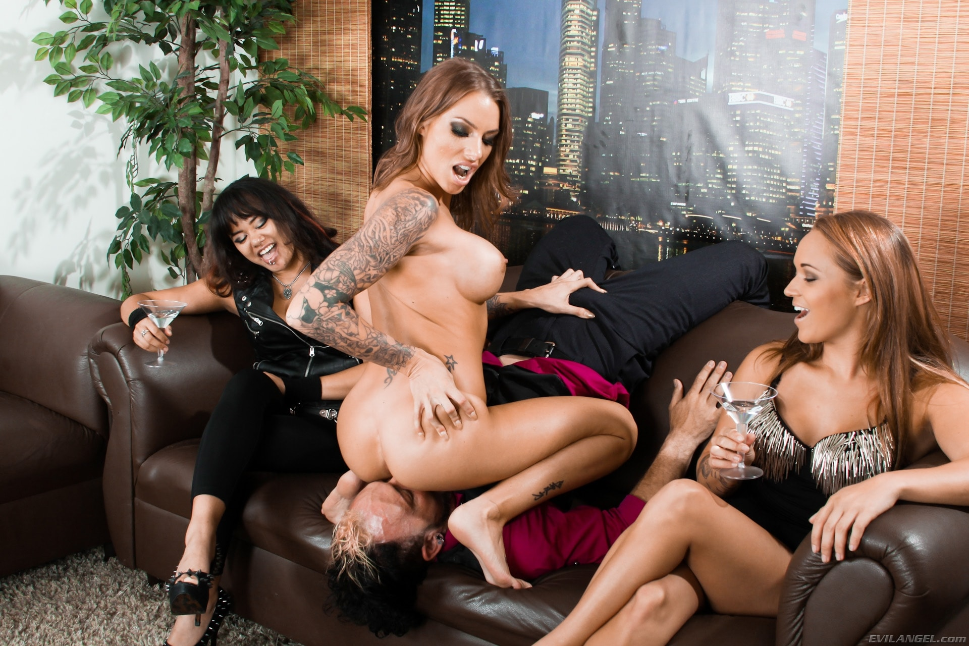 Evil Angel 'Femdom Ass Worship 22' starring Annie Cruz (photo 8)