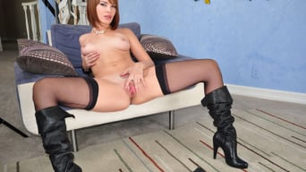 Aiden Starr in 'Black Cock Addiction 8'