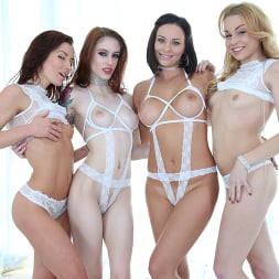 Alysa Gap in 'Evil Angel' Alysa, Sheena Shaw, Anna de Ville, Rebecca Black (Thumbnail 40)