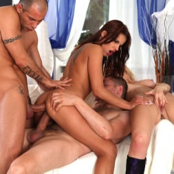 Angel Rivas in 'Evil Angel' Rocco's Double Anal Festival (Thumbnail 24)