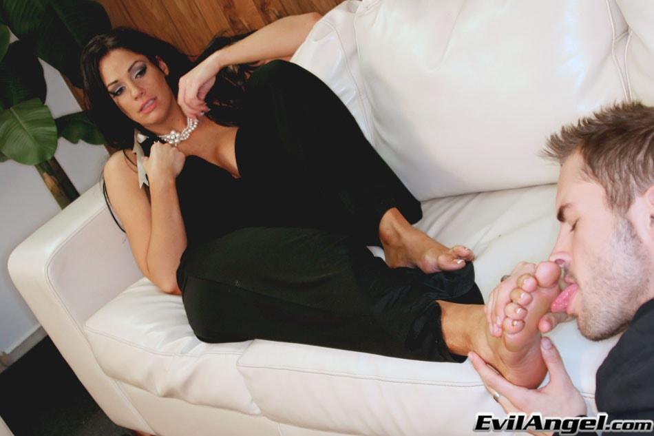Evil Angel 'Femdom Ass Worship 3' starring Angela Aspen (Photo 4)