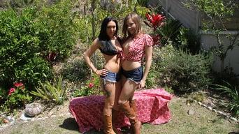 Ashlynn Leigh in 'Megan Foxx and Ashlynn Leigh'