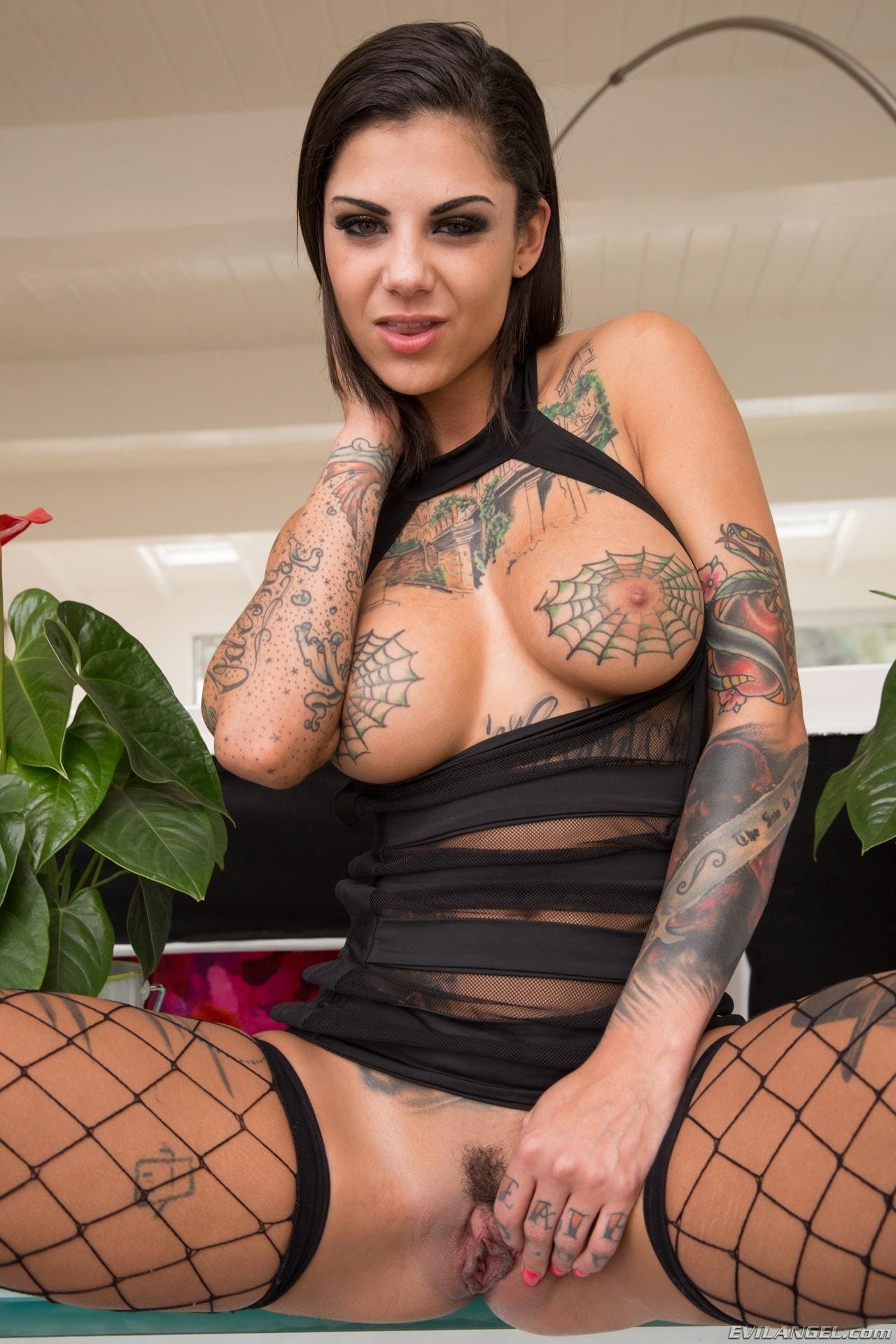 Evil Angel 'Tattooed Anal Sluts' starring Bonnie Rotten (Photo 6)