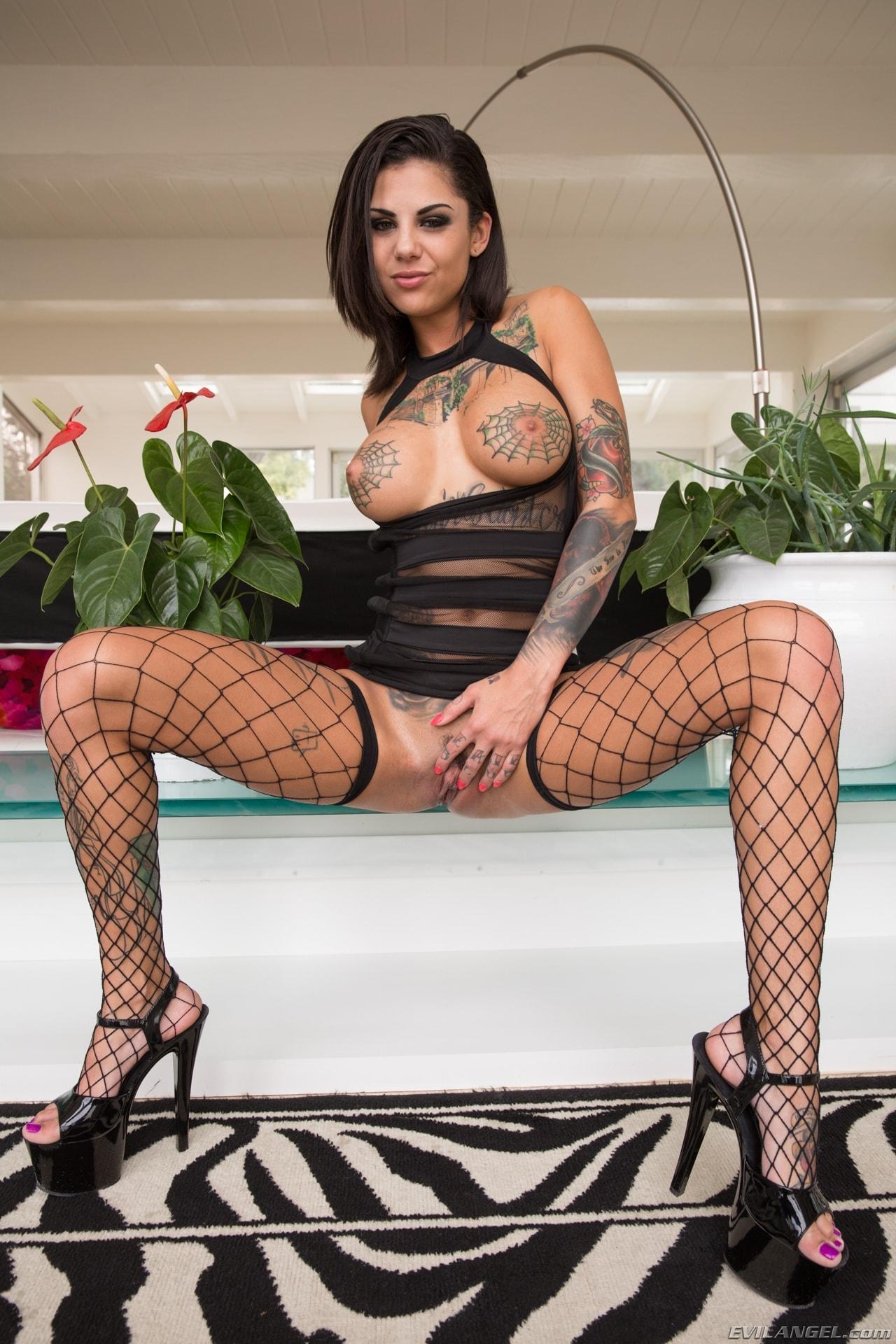 Evil Angel 'Tattooed Anal Sluts' starring Bonnie Rotten (Photo 7)