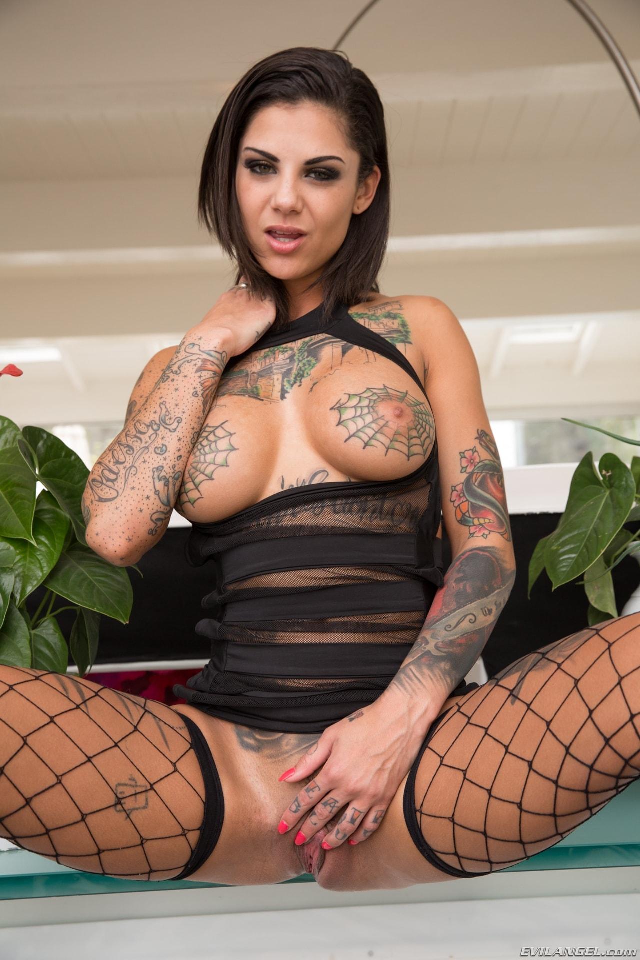 Evil Angel 'Tattooed Anal Sluts' starring Bonnie Rotten (Photo 8)