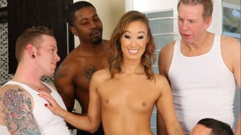 Christy Love in 'LeWood Gangbang: Battle Of The MILFs 3'