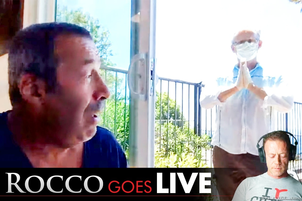 Evil Angel 'Rocco Goes LIVE with John Stagliano!' starring Joey Silvera (Photo 1)