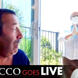 Joey Silvera in 'Evil Angel' Rocco Goes LIVE with John Stagliano! (Thumbnail 1)