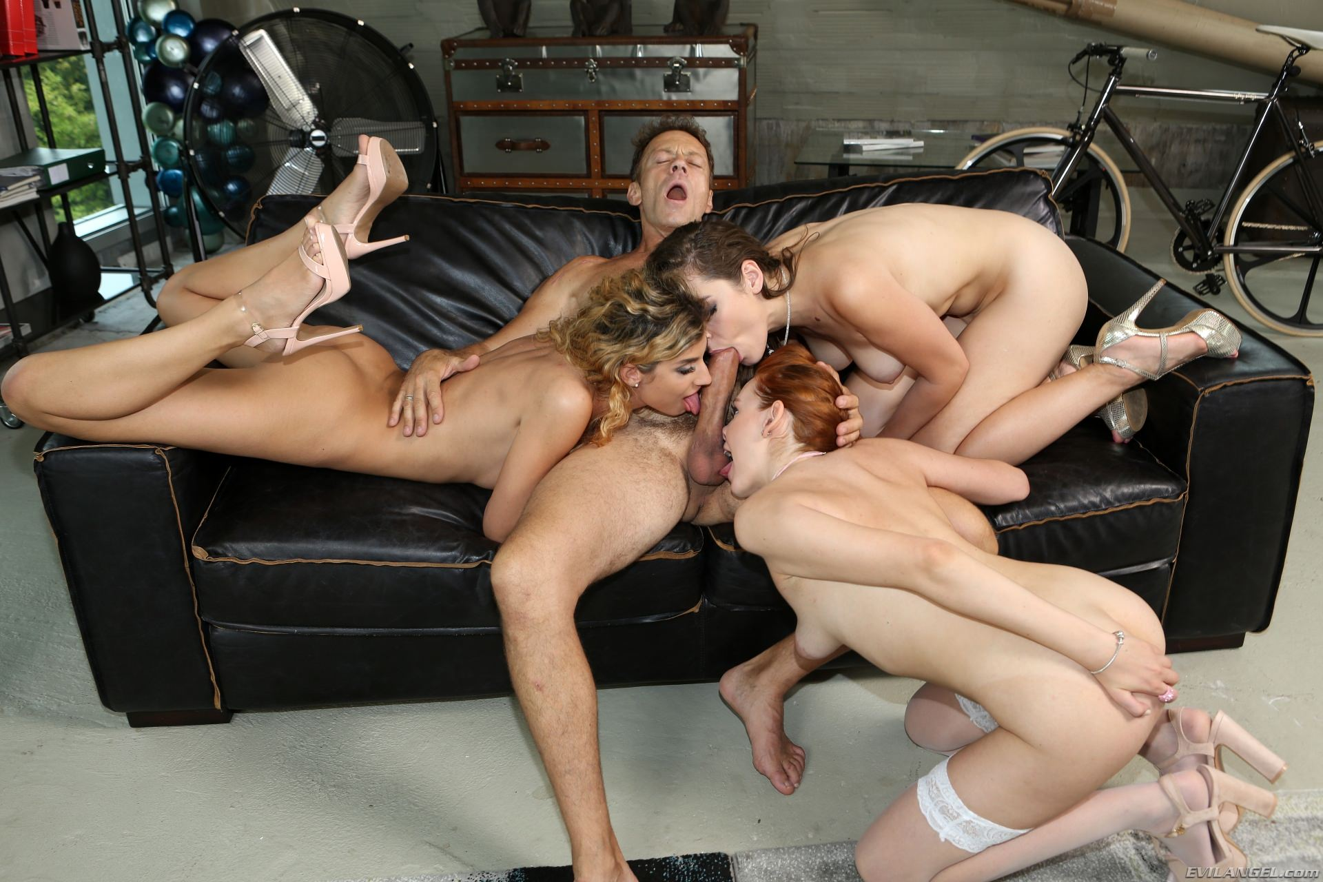 Evil Angel 'Rocco Sex Analyst 7' starring Shona River (Photo 55)