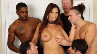 Syren De Mer in 'LeWood Gangbang: Battle Of The MILFs 3'