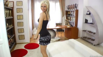 White Angel in 'Rocco One On One'